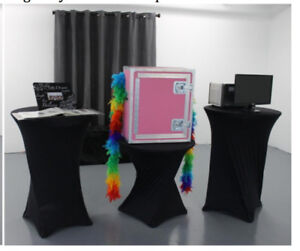 PhotoBooth with software+Camera/Lens+Printer