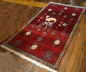 Remarkable Qashqaei Tribal Carpet Handmade Shiraz Persian Rug Hornsby Hornsby Area Preview