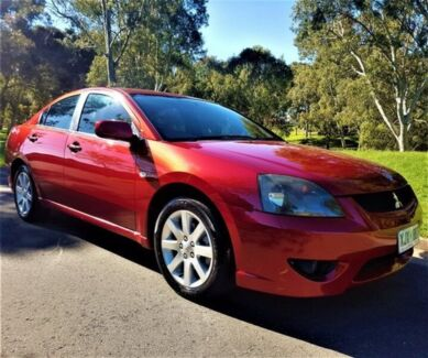 2006 Mitsubishi 380 DB Series 2 VR-X Red 5 Speed Sports Automatic Sedan Underdale West Torrens Area Preview