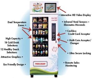 MAX Healthy Vending machines for sale