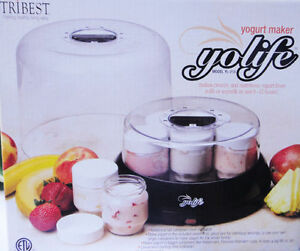 Tribest Yolife YL-210 Yogurt Maker *like new*