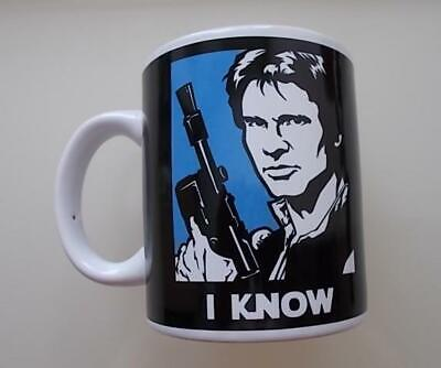 **STAR WARS 'HANS SOLO & PRINCESS LEIA I KNOW I LOVE YOU' BOXED CERAMIC MUG**