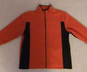 Orange/Black Penmans Fleece Sweater Mens L