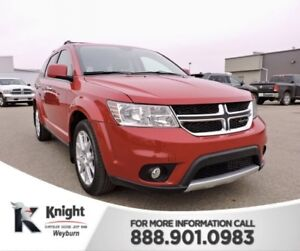 2014 Dodge Journey R/T NAV Back-Up Cam Heated Leather Remote Sta