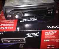 Sony mp3 deck with auxiliary