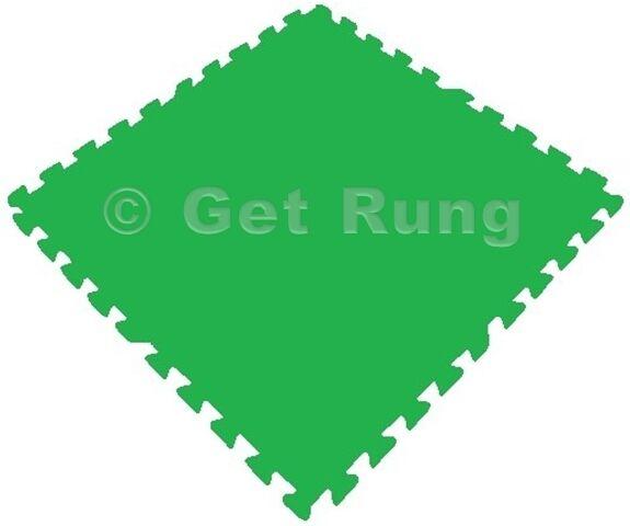 72 sqft green interlocking foam floor puzzle tiles mats puzzle mat flooring
