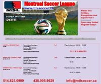 Montreal Soccer League needs coed teams and players for friday's