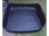 Audi A6 C6 saloon genuine hard plastic boot liner