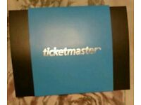 Ticketmaster voucher with £200 on it