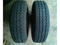 Tyres 13C trailer or small track