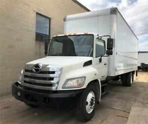2012 Hino 268 26 Feet Box Auto Tailgate G License Low Kms