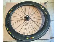 Mavic cosmic cxr 60 wheelset pair front and rear