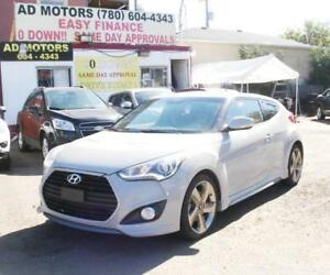NO ACCIDENT!! 2013 HYUNDAI VELOSTER TURBO NAVi LEATHER SUNROOF..