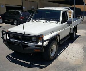 1997 Toyota Landcruiser HZJ75RP (4x4) 5 Speed Manual 4x4 Cab Chassis Burleigh Heads Gold Coast South Preview