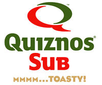 Quiznos Sub Restaurant for Sale in Barrie, ON