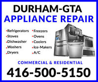 DURHAM AIR-CONDITIONER REPAIRS & APPLIANCE SERVICE: 416-500-5150