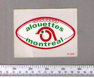 WTB: Esso Power Players - Montreal Alouettes Decals / Stickers