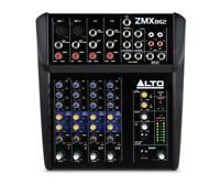 Aubaine Neuf* Alto ZMX 862 6-Channel 2-Bus Mixer with 12 inputs
