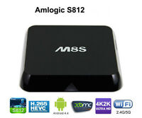 Quad Core Android TV M8S Box 14.2 Fully Loaded! Cable Killer