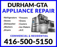 RESIDENTIAL/COMMERCIAL APPLIANCE REPAIR AND INSTALLS