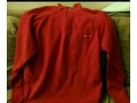 Craghoppers fleece red small skiing