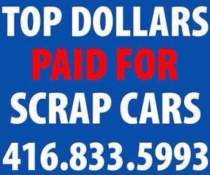 Cash for Clunkers - Top $$$$$ Paid - Free Towing - 416.833.5993