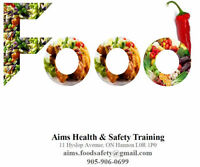 Essential Food Safety Training Course in $50 (total)