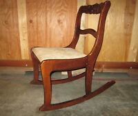 Antique Wooden Rocker