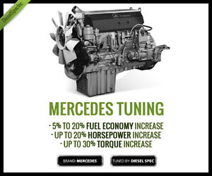 MERCEDES MBE900 - MBE4000 EGR-DPF Delete