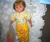 """18"""" REDHEAD GREEN EYE AM GIRL DOLL CLONE,YELLOW OUTFIT,SHOES"""