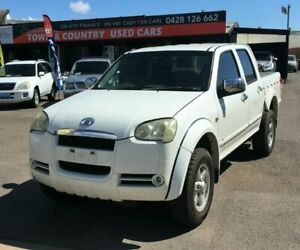 2009 Great Wall V200 White Manual Dual Cab Garbutt Townsville City Preview