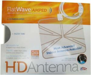 WINEGARD FLAT WAVE FL5500 AMPLIFIED HD INDOOR ANTENNA