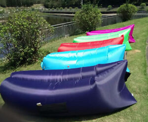 "BRAND NEW ""Air Lazy bag"" inflatable loungers chair bed mattress Edmonton Edmonton Area image 3"