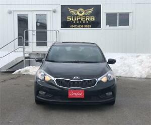 2015 Kia Forte SX NO ACCIDENT, ONE OWNER, FULLY LOADED