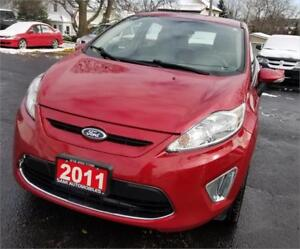 2011 Ford Fiesta SES LEATHER SUN ROOF LOW KM ACCIDENT FREE