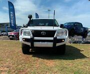 2014 Toyota Landcruiser VDJ200R MY13 GX White 6 Speed Sports Automatic Wagon Berrimah Darwin City Preview