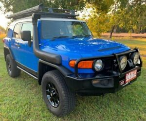 2011 Toyota FJ Cruiser GSJ15R Blue 5 Speed Automatic Wagon Berrimah Darwin City Preview