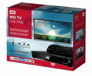 WD TV Live Hub Media Center 1TB - Media Streaming