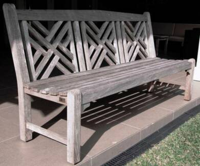 Jati Furniture Premium Plantation Teak Garden Bench Willoughby East Willoughby Area Preview