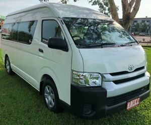 2014 Toyota HiAce KDH223R MY14 Commuter High Roof Super  White 4 Speed Automatic Bus Berrimah Darwin City Preview