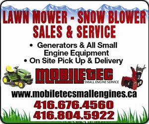 Commercial Construction Equipment & Lawnmower Service