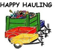 Happy Hauling Junk Removal- Free Estimates!