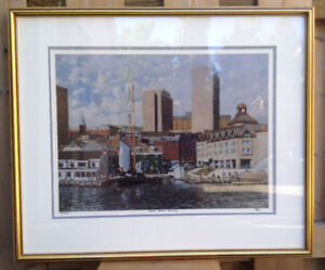 Halifax Harbour Framed Print