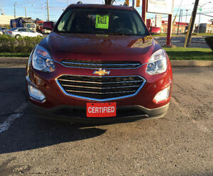 2016 Chevrolet Equinox LT AWD SUV! Amazing Condition! Certified!