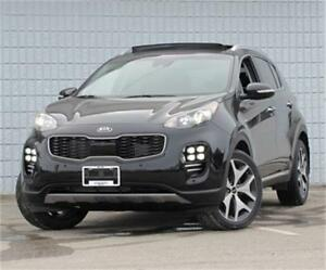 2017 Kia Sportage SX Turbo AWD|Sunroof|Leather|Heated Seats
