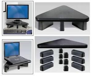 Corner monitor or laptop stand/riser
