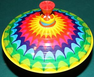 Vintage 1970's TOY SPINNING TOP -made in Germany-