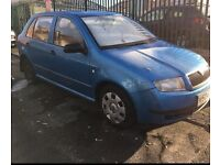 SKODA FABIA COMFORT 1.4 PETROL TAX & MOT MAY PX OR SWAP