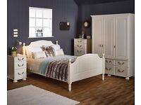 Signiture bed, dresser, side chest draws and cupboard RRP £4000