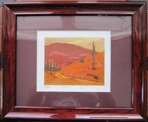 TWO TOM THOMSON LIMITED EDITION TITLED AND NUMBERED PRINTS